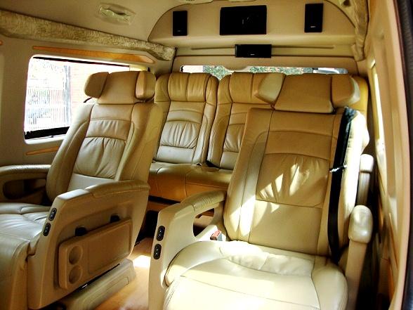 5 Seater Toyota Luxury Van Hire Delhi Toyota Hiace Van