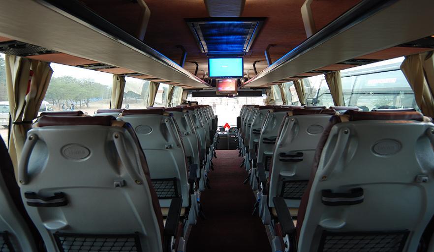 34 Seater Volvo Bus Volvo Coach Hire Delhi Volvo Bus