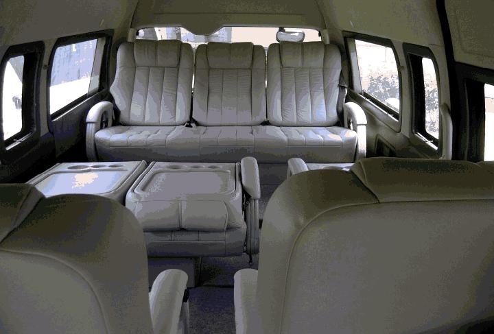 9 Seater Toyota Minivan Toyota Hiace Hire Delhi