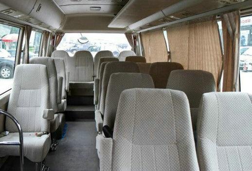 15 Seater Toyota Van Hire Delhi Toyota Coaster Minivan